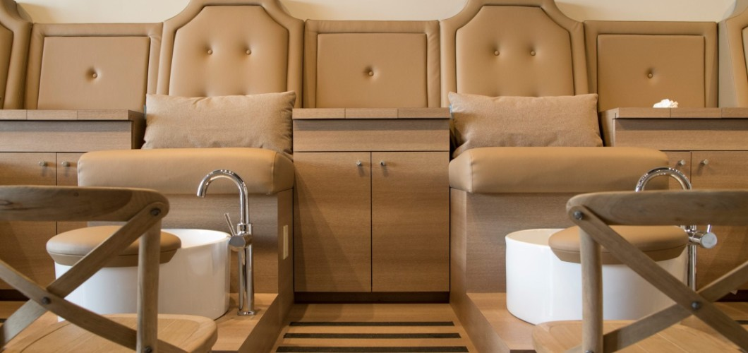 Luxe nail spa boutique for Lux salon and spa